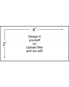 Custom 2' X 4' Banner